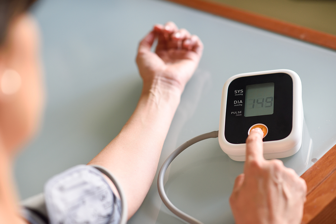 What causes blood pressure monitor error codes?
